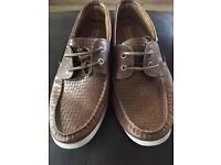 River island boat shoes size 10