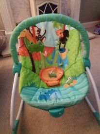 Bright starts baby to toddler rocker chair