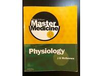J. G. McGeown Master Medicine: Physiology, Third Edition