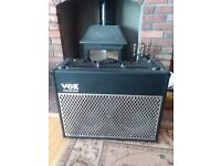 Vox AD100VT amp, very good condition. 2twelves and valve pre amp
