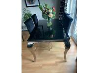 Dinning table and chairs want quick sale