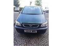VAUXHALL ZAFIRA 7 SEATER PETROL AUTOMATIC, 2004 GREAT CONDITION