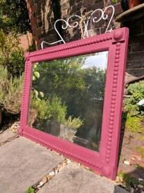 Annie Sloan antique mirror.