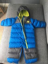 North Face Warm Suit 3-6m
