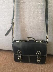 Topshop black satchel