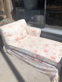 5ft Modern Chaise Longue - free Local delivery Good condition feel free to view size L 60in