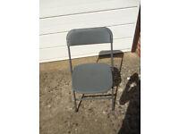 Grey Plastic Chairs