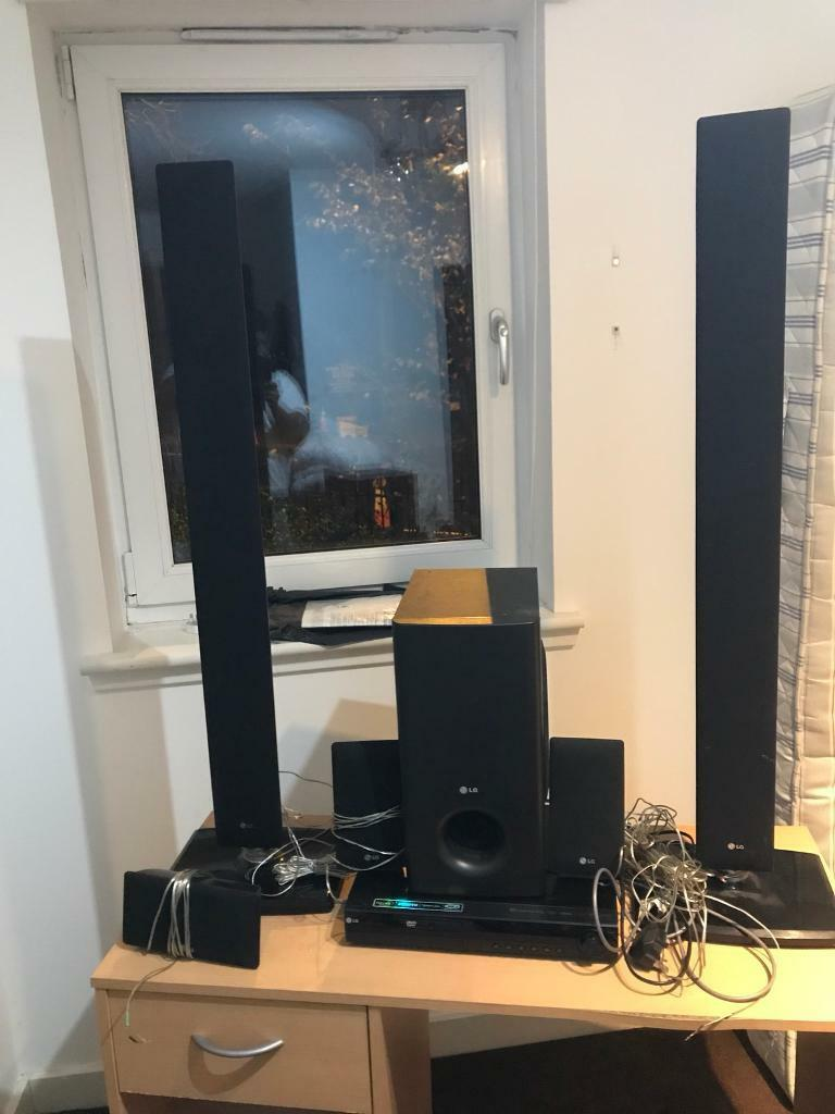 Very good condition LG 5 in 1 with woofer