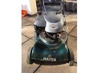 Hayter Harrier 41 petrol mower SOLD