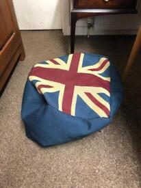 Union Jack child's beanbag * free furniture delivery *