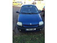 Renaul Clio. No mot selling as bought a newer car. Was used daily