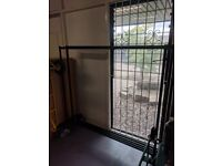 Strong Industrial clothing rails