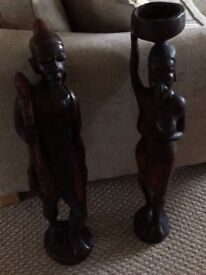 Ebony African Statues for Sale