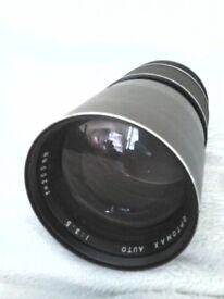 3 Fujinon and Optomax Camera Lenses can sell separately