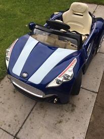 Kids electric convertible car