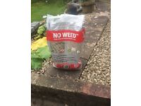 Weed inhibiting sand