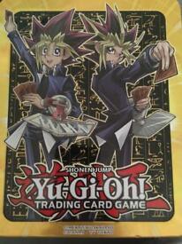 Yu-Gi-Oh! Mega tin and cards