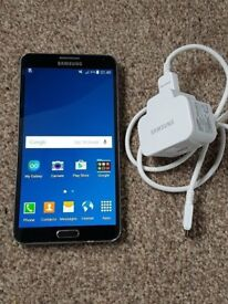 samsung note 3 black unlocked open o2 02 ee t mobile virgin tesco 3 vodafone any giff gaff