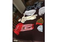 Bundle of baby boy clothes from 5lb to 7lb
