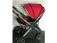 Oyster 2 pram and car seat for sale