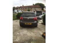 GREY VOLKSWAGEN GOLF FOR SALE! IN PERFECT CONDITION!