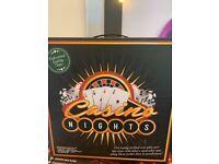 Casino set- brand new