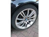 """Bmw 18"""" MV3 alloy wheels/alloys e46 e90"""