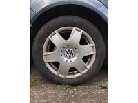 Volkswagen Bora Standard Alloy wheels