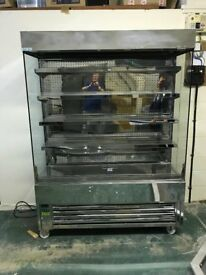 Frost-Tech SD60-150 Stainless Steel Slimline Multideck Display