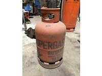 Butane 13kg gas bottle empty located on the outskirts of Camborne