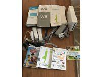 Brand new Nintendo wii bundle with Wii fitness board