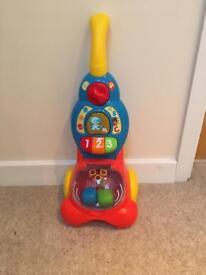 Children's toy hoover