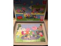 Peppa pig trio puzzle set