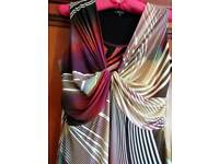 Long multi coloured dress