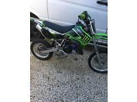 Kawasaki kx65 2009 off road motocross bike