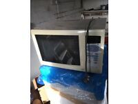 Bargain- used microwave
