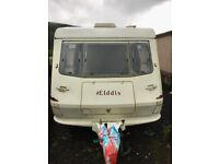 Immaculate Elddis 2 Berth Caravan. Hardly used and in mint condition.