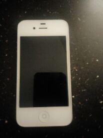iPhone 4s white locked onto EE had couple of cracks on back case but phone in very good condition