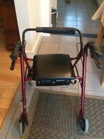 Mobility Walker with seat/storage