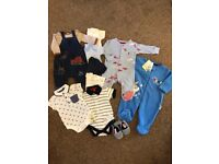 Bundle of Baby Clothes (0-3 months)