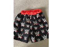 WWE swimming shorts age six