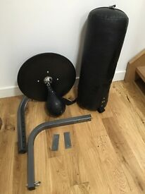 Boxing Punch Bag , Speed Ball and brackets