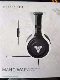 Razer Headset (Destiny 2 Tournament Edition Brand New)