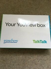 Talktalk Youview box +all leads