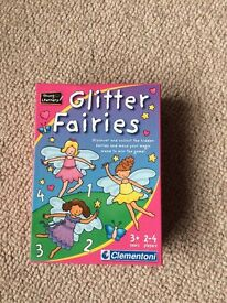 Young Learners Glitter Fairies Game - Age 3+ - Excellent Condition