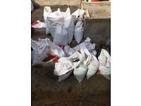 FREE- 30x sacks of soil