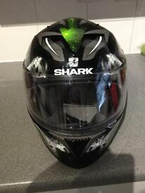 Shark motorcycle helmet like new