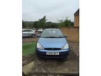 Ford Focus 1.6 Zetec. Excellent runner does need work on exhaust. No MOT hence price!