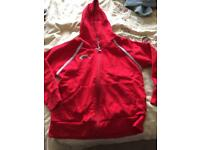 Rainbows Hoodie Size Medium