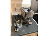 Delonghi Manual Coffee Machine With Extras